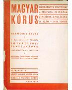 Magyar kórus 1934/14. szám június