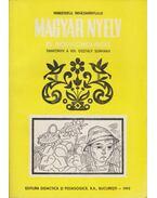 Magyar nyelv és irodalomolvasás tankönyv a VIII. osztály számára