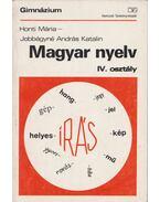 Magyar nyelv IV. osztály