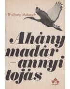Ahány madár - annyi tojás - Makatsch, Wolfgang