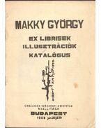 Makky György: Ex librisek - Illusztrációk katalógus