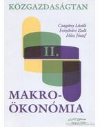 Közgazdaságtan II. - Makroökonómia