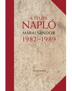 A teljes napló 1982-1989 - bőrkötés - Márai Sándor