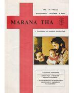 Marana Tha 1992 szeptember-október 5. szám