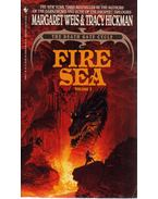 Fire Sea (dedikált) - Margaret Weis,  Tracy Hickman
