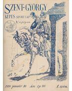 Szent-György Képes Sportlap 1929. V. évfolyam - Massány Ernő dr.