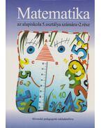 Matematika az alapiskola 5. osztálya számára II.