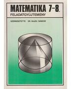 Matematika 7-8. feladatgyűjtemény