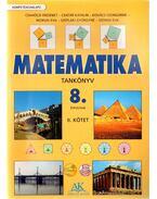 Matematika tankönyv 8. évfolyam II. kötet
