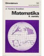 Matematika II. osztály