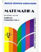 Matematika - Komplex függvénytan II.