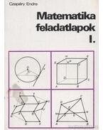 Matematika feladatlapok I.