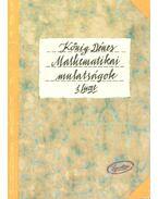 Mathematikai mulatságok 1. füzet