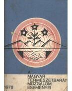 A Magyar Természetbarát mozgalom eseményei 1978 - Matits Ferenc