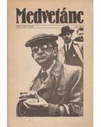 Medvetánc 1986/4. - 1987/1. szám
