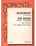 A méhecske Op. 13. No. 9 (hegedű és zongora)
