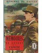 Mémoires de Guerre II.