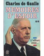 Memoires d'Espoir II.