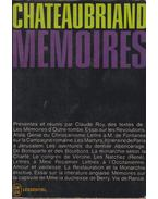 Chateaubriand - Mémoires
