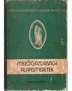 Mezőgazdasági alapismeretek