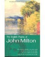 The English Poems - Milton, John