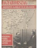 Magyarország 1983. XX. évfolyam ( hiányzik a 9. szám)