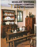 Mobilier Bressan, Franc-Comtois et Montbéliardais