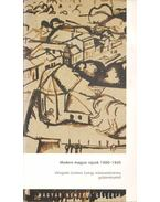 Modern magyar rajzok 1900-1945