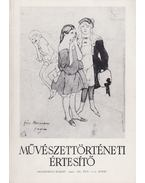 Művészettörténeti értesítő XL. évf. 1-2. szám - Mojzer Miklós