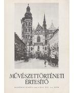 Művészettörténeti értesítő XLII. évf. 3-4. szám - Mojzer Miklós