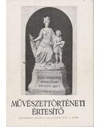 Művészettörténeti értesítő XXXII. évf. 4. szám - Mojzer Miklós