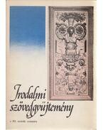 Irodalmi szöveggyűjtemény a XI. osztály számára - Molnár Szabolcs