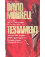Testament - Morrell, David