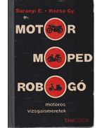 Motor, moped, robogó