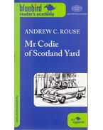 Mr Codie of Scotland Yard