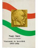 Vitairatok és beszédek 1955-1956 - Nagy Imre