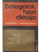 Fogyasztó és hizlaló diétás étrendek és az ételek elkészítési módjai - Nagy Józsefné, Somogyi Lászlóné dr.