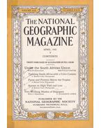 National Geographic Magazine 1931 April