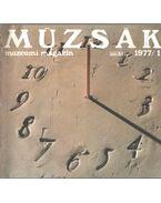 Múzsák Múzeumi Magazin 1977-1980 - Nemes Iván