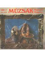 Múzsák múzeumi magazin 1981/1 - Nemes Iván