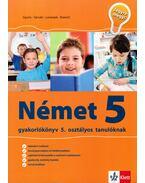 Német gyakorlókönyv 5. osztályos tanulóknak