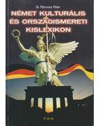 Német kulturális és országismereti kislexikon (dedikált)