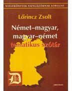 Német-magyar, magyar-német tematikus szótár