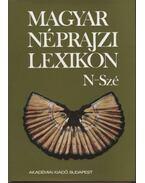 Magyar néprajzi lexikon 4. kötet N-Szé
