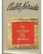 Óda a nyomdához - Oda a la tipografía (számozott) (mini) - Neruda, Pablo