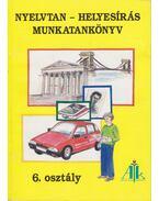 Nyelvtan-helyesírás munkatankönyv - 6. osztály