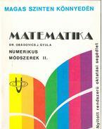 Numerikus módszerek II.
