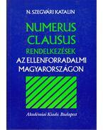Numerus clausus rendelkezések az ellenforradalmi Magyarországon