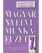 Magyar nyelvi munkafüzet 7.