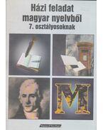 Házi feladat magyar nyelvből 7. osztályosoknak